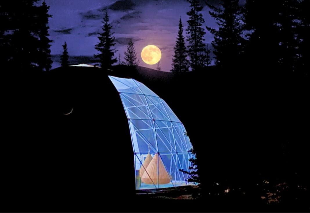 Luxury Sky Dome with Telescope